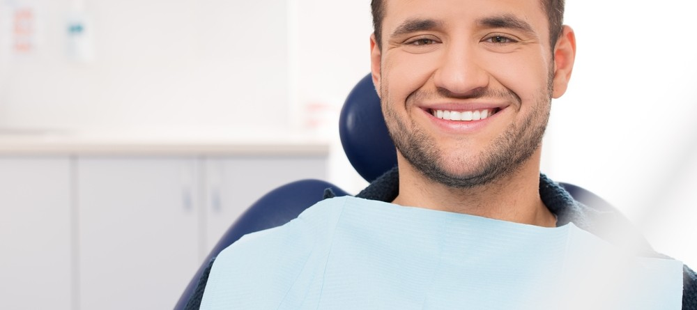 Man Ready for His Dentist Appointment