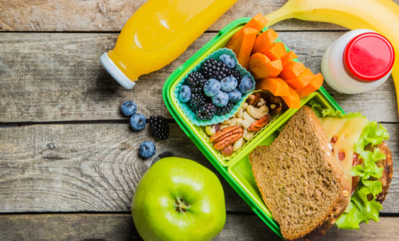 Tooth-Friendly School Lunches